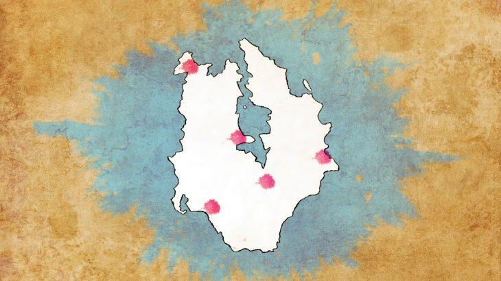 【久賀島の集落】