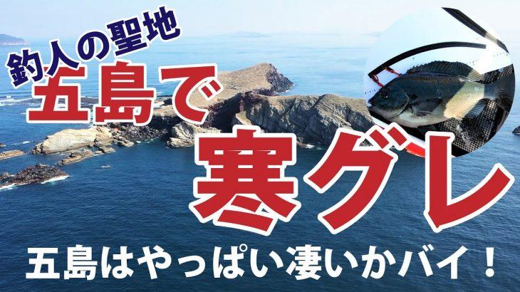 寒グレ終盤の五島にフカセ行ってきました!一日釣り釣れ続けるパラダイスをご覧ください!