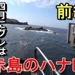 【長崎のクロ釣り】五島列島 2017年4月 赤島のハナレ(前編)・グレ、メジナ
