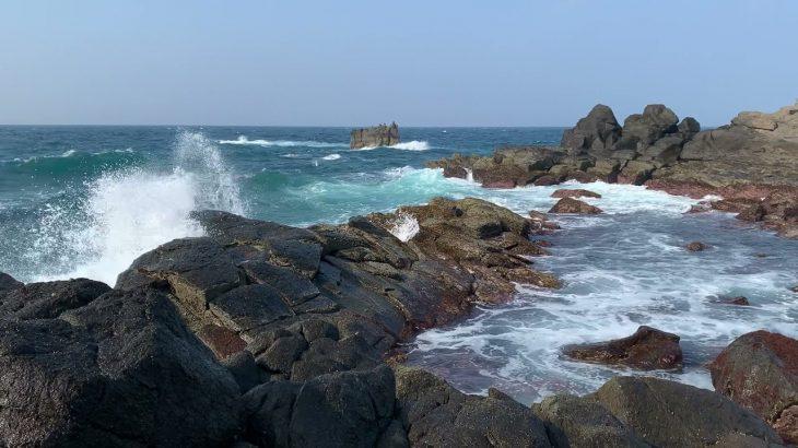 大迫力!五島列島の最北端 宇久島の磯 スマホで撮影 ノーカット版